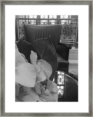 Afternoon Tea At The Waldorf Framed Print by Tara Miller