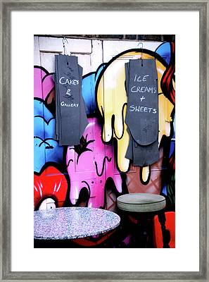 Afternoon Tea For 2 Framed Print by Jez C Self