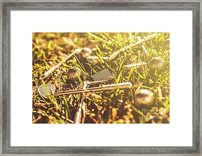 Afternoon Tea Off  Framed Print