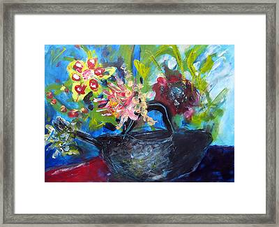 Afternoon Tea Two Framed Print by Rebecca Merola