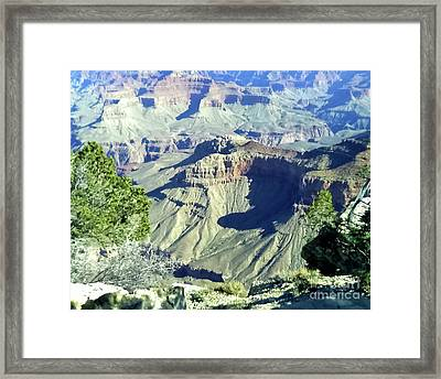 Afternoon View Grand Canyon Framed Print
