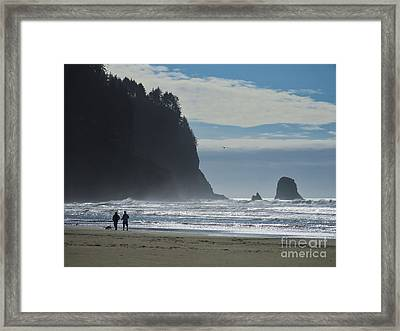 Cape Meares Framed Print by Michele Penner