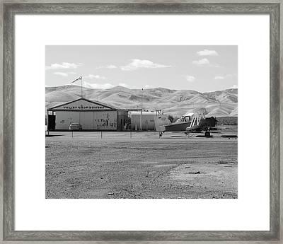 Ag-cat Westley Ca Framed Print
