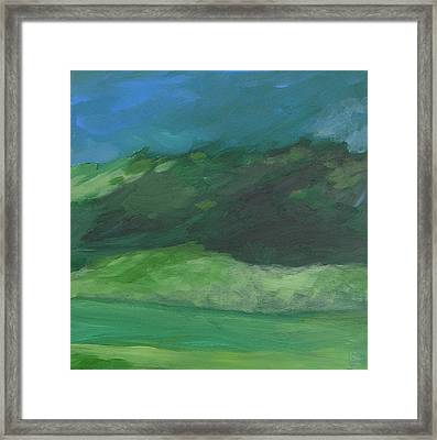 Again For The First Time Framed Print by Mary Brooking