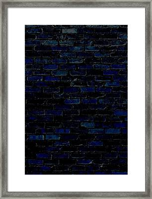 Against A Brick Wall Framed Print by Chastity Hoff