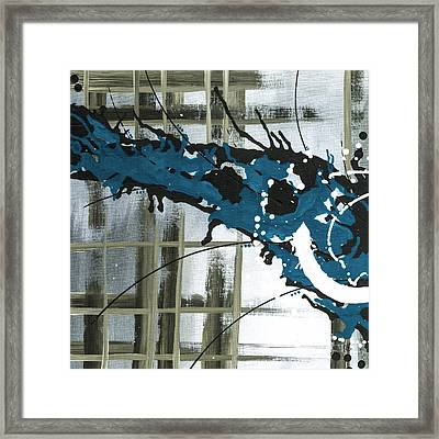 Against My Will 6 Framed Print by Melissa Smith