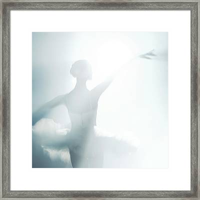 Against Of Light Framed Print by Nikolay Krusser
