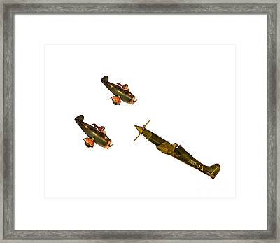 Against The Odds Framed Print by Linsey Williams