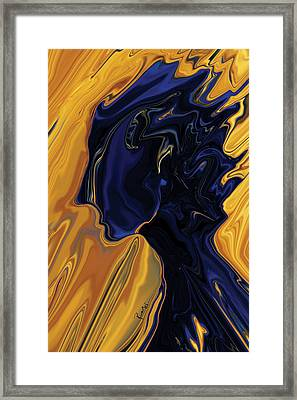 Against The Wind Framed Print by Rabi Khan