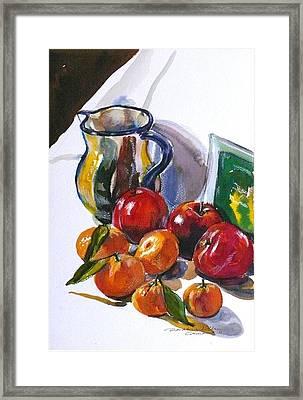 Againt The Light Framed Print by Doranne Alden