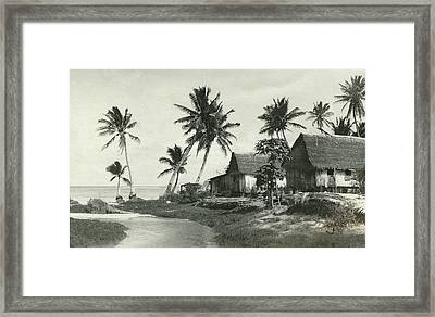Framed Print featuring the photograph Agana River by eGuam Photo