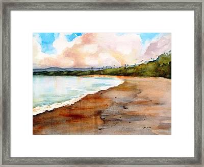 Aganoa Beach Savai'i Framed Print