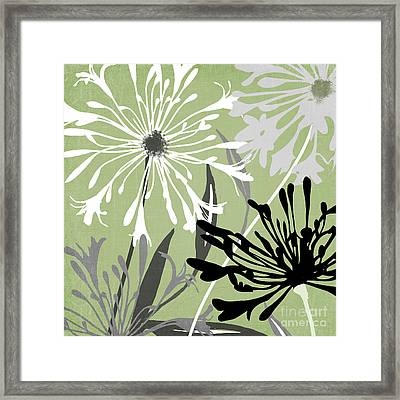 Agapanthus Framed Print by Mindy Sommers
