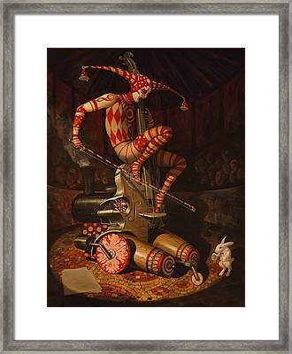 Agaric Flying Dutchman Framed Print