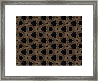 Agate Dimensions Framed Print