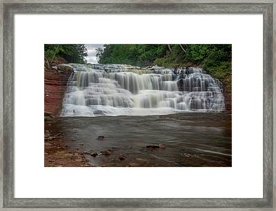 Agate Falls Framed Print