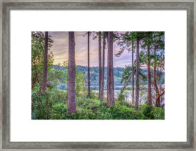Agate Passage View Framed Print by Spencer McDonald