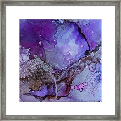 Agate Framed Print