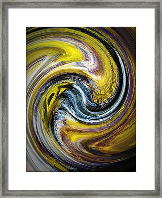 Agate The Mineral Framed Print