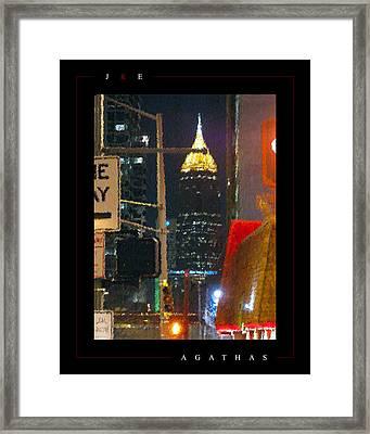 Agathas Framed Print by Jonathan Ellis Keys
