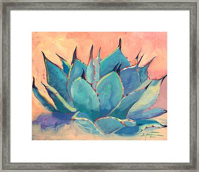 Agave 2 Framed Print by Athena  Mantle
