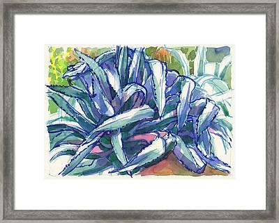 Agave Tangle Framed Print