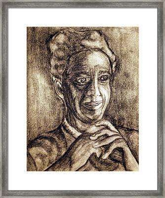 Age And Grace Framed Print by Tammera Malicki-Wong