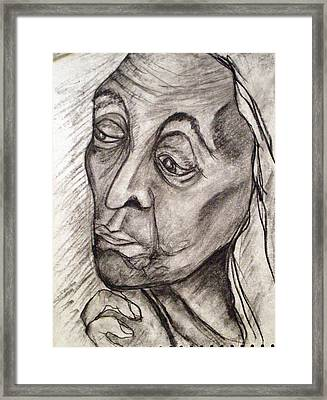 Age And Wisdom Framed Print by Tammera Malicki-Wong