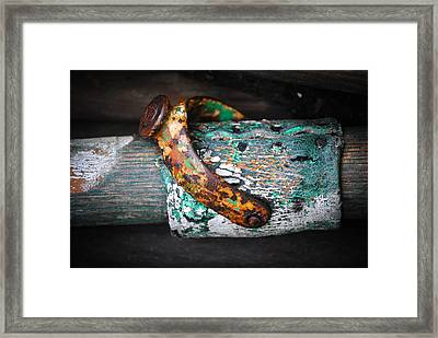 Age Is An Issue Of Mind Over Matter Framed Print by Laura Pineda
