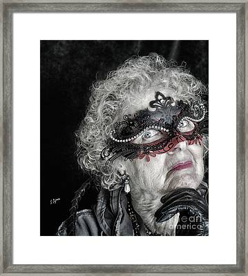 Age Is Not A Victim  Framed Print by Steven Digman