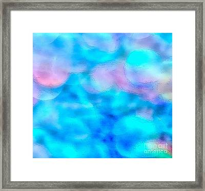 Age Of Aquarius Framed Print by Krissy Katsimbras
