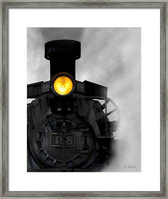 Age Of Steam No. 2 Framed Print by Joe Bonita