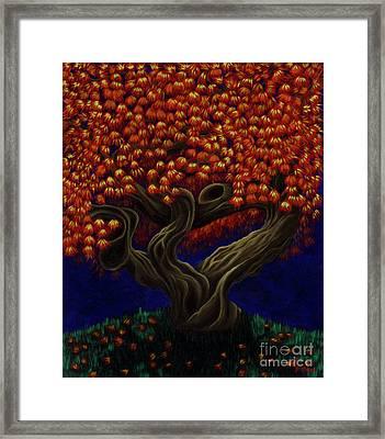 Aged Autumn Framed Print