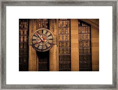 Aged In Time Framed Print