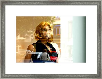 Aged Sonja Framed Print by Jez C Self