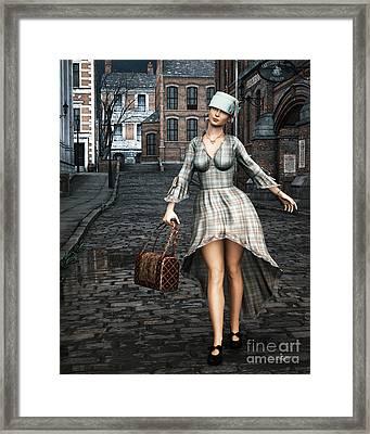Ageless Fashion Framed Print by Jutta Maria Pusl