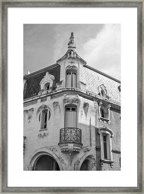 Agen Art Nouveau Building Framed Print