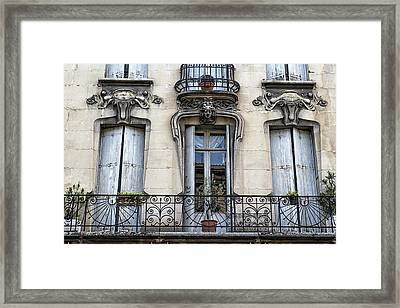 Agen Windows Framed Print