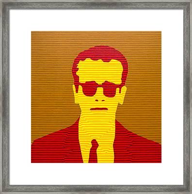 Agent Orange Framed Print by Oliver Johnston