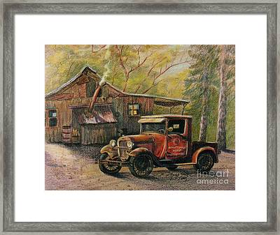 Agent's Visit Framed Print by Marilyn Smith