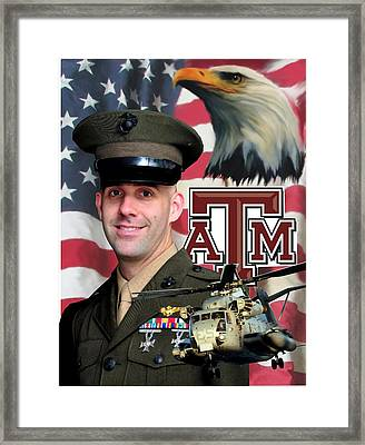 Aggie Major Framed Print