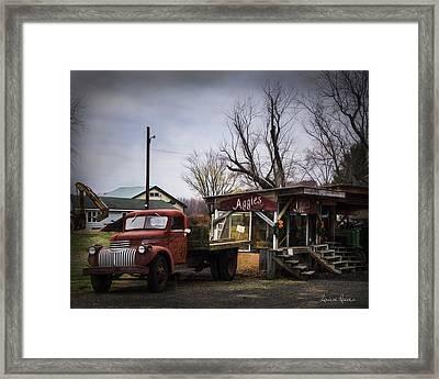 Aggie's Farm Stand 2 Framed Print