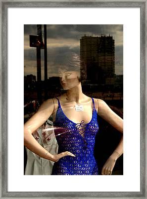 Aggresive Anne Framed Print by Jez C Self