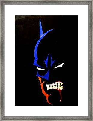Aggression Framed Print