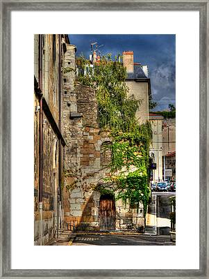 Aging Beauty Vienne France Framed Print by Tom Prendergast