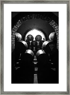 Aging Wine - Columbia South America Framed Print by Daniel Hagerman