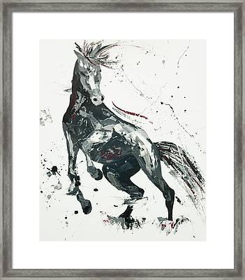 Agitato Fervour Framed Print by Penny Warden