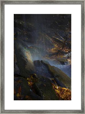 Framed Print featuring the photograph Aglow by Ellen Heaverlo