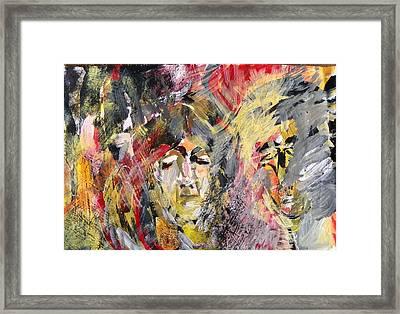 Agony Framed Print