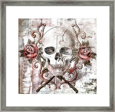 Agony Framed Print by Maria Arango